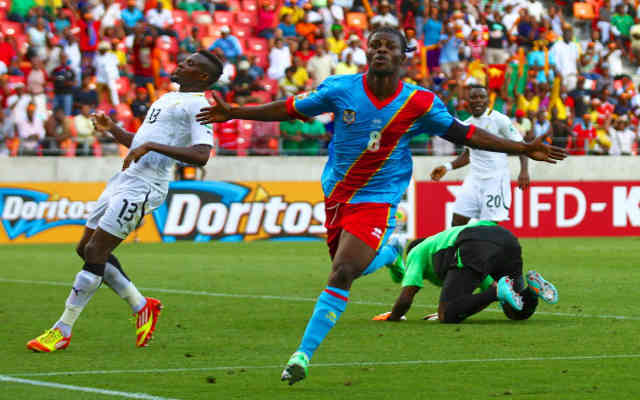 Ghana who are Africa's favourite were winning but ended up with a draw with DR Congo