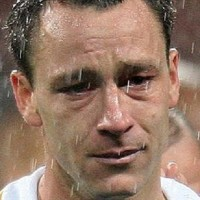 John Terry. Chelsea captain John Terry was inconsolable after his crucial penalty that he missed in the Champion's league final. Why do best players miss penalties.