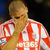Jonathan Walters endured one of the worst imaginable days – scoring two own goals and missing a penalty as Stoke lost their unbeaten home record in a 4-0 thrashing by Chelsea.