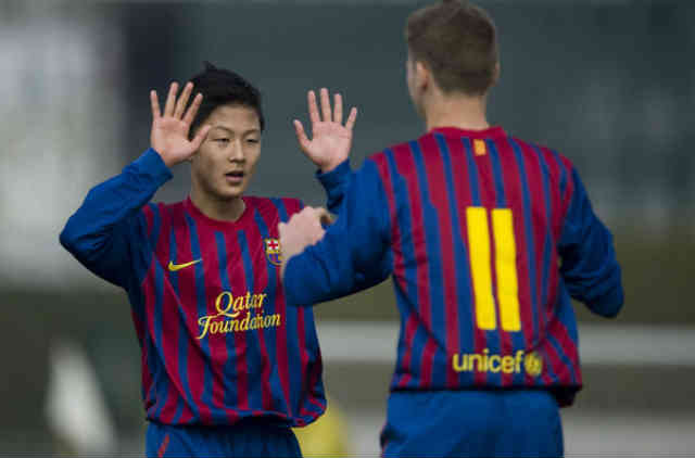 Lee Seung Woo who has been called the Korean Messi, could be the next star in Barcelona