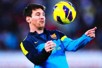 Lionel Messi has done it again by making it the fourth time in a row of taking the Ballon'Or
