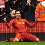 Luis Suarez has been looked upon as one of the top goal scorers and is continuing to lift Liverpool up with him