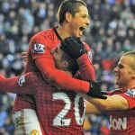 Wigan Athletic 0 : 4 Manchester United Highlights