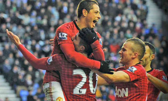 Manchester United win with a comfortable win against Wigan and showing signs that they could take back the title