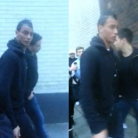 Marouane Chamakh and Samir Nasri were as one of the fans in the Manchester City and Arsenal match ended up walking and Samir Nasri suffered the abuse from fans from his ex club