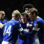 Newcastle United 1 : 2 Everton Highlights
