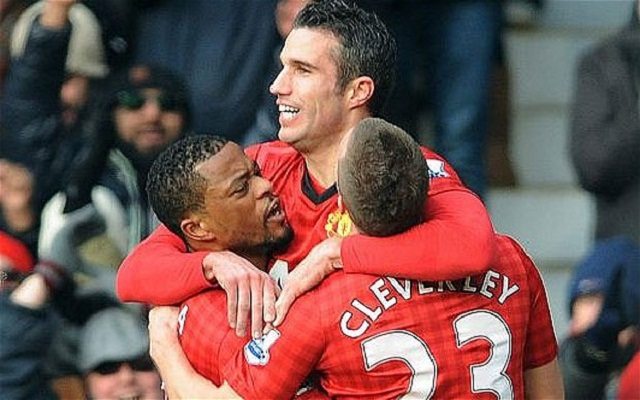 Robin van Persie and Patrice Evra were both brilliant for Manchester United on this Super Sunday clash vs Liverpool at Old Trafford