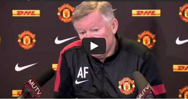 Sir Alex Ferguson press conference-Liverpool v Man Utd 11-01-2013