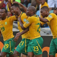 South Africa 2 : 0 Angola Highlights