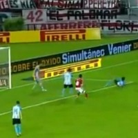 Video of Sensational Overhead Kick by Ariel Rojas
