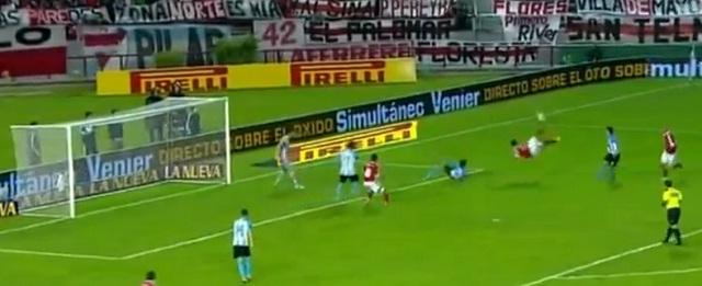 Video of Sensational Overhead Kick by Ariel Rojas