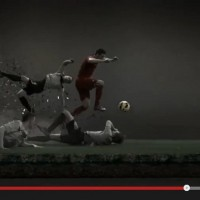 Witness the trail of carnage as Cristiano Ronaldo and the new Nike Mercurial Vapor IX explode towards goal.