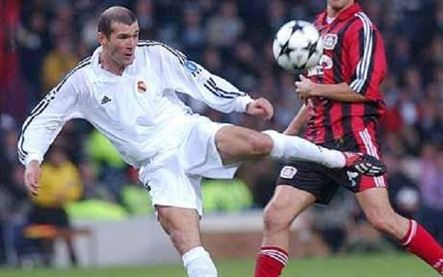 Zinedine Zidane's match winning volley in the 2002 Champions League Final was the perfect harmony of function and grace