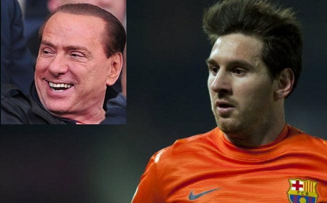 AC Milan president Silvio Berlusconi believes that Barcelona star Lionel Messi should be man-marked in their Champions League upcoming game.
