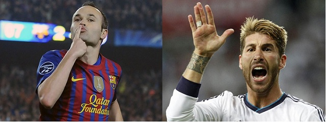 Andres Iniesta says he would like to play alongside Real Madrid defender Sergio Ramos and Malaga attacker Isco at Barcelona.