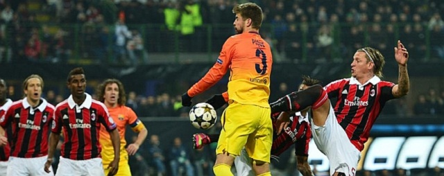Is Barcelona overrated? Piqué, the centre-back admitted that 'it's a very bad result. When Milan scored their first goal we lost focus'.