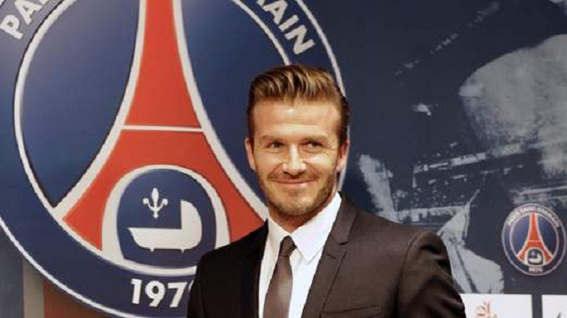 David Beckham has signed up with PSG for just five months