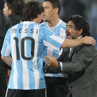 Diego Maradona wants his son to play for Argentina with kids of Lionel Messi & Sergio Aguero