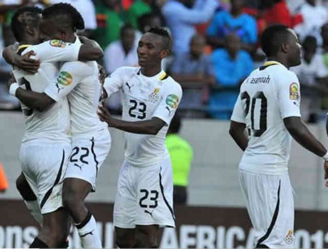 Ghana have made it to the semi final by beating Cape Verde