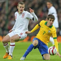 Jack Wilshere who was nomniated man match was said to play like a Brazilian