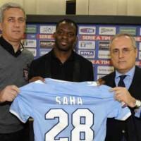 Lazio: First words of Louis Saha