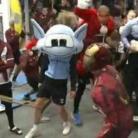 Manchester City get it on with the Harlem Shake in their training