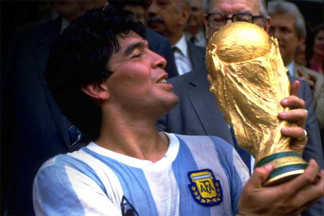 Maradona won the World Cup single handedly