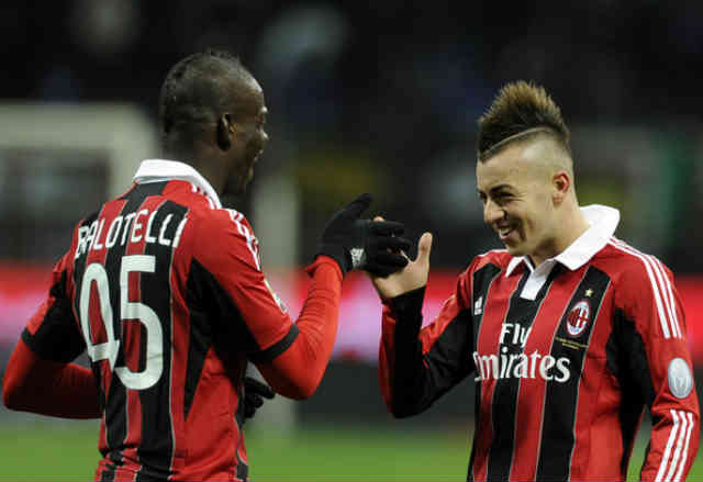 Mario Balotelli who was one of Manchester City strikers has made his name big in AC Milan, Italy