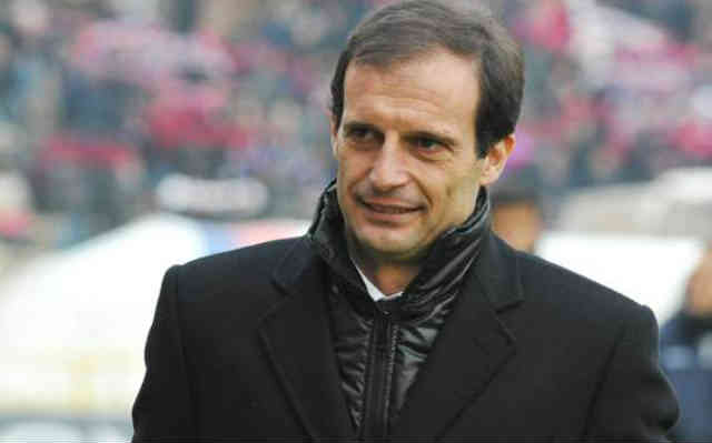 Massimiliano Allegri is proud of Mario Balotelli for not reacting to the chants