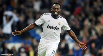 Michael Essien says Real Madrid will go all out to win the Champions League this season ahead of their round-of-16 tie against Manchester United.