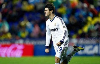 Morata scores first after three minutes