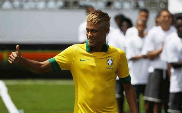 Neymar will be playing against England tonight and is focused to show the world his skills