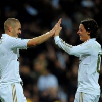 Ozil and Benzema- the Real Madrid teammates will be enemies for day today as France plays Germany in a friendly game.