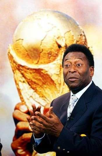 The World Cup always hovers when Pele's name is mentioned