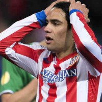 Radamel Falcao disappointed as their team are kicked out of the Europa League