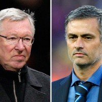 Real Madrid coach Jose Mourinho shrugged off any talks of him replacing Alex Ferguson as Manchester United's next manager.