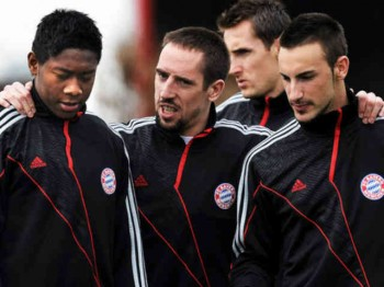 Ribery is confident to go to the next stage of the Champions League