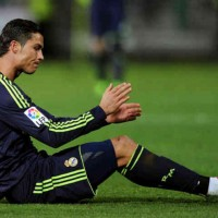 Ronaldo in shock by bringing an own goal