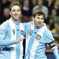 Sweden 2 : 3 Argentina