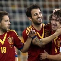 Spain 3 : 1 Uruguay