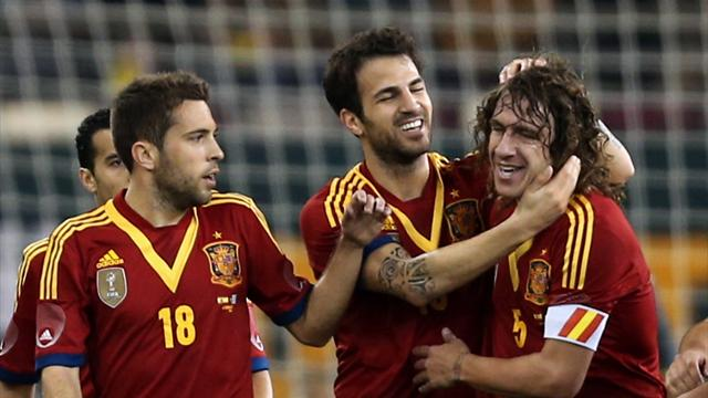 Spain came alive in the second half to dispatch Uruguay 3-1 in an engaging international friendly at the Khalifa Stadium on Wednesday.