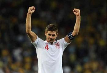Steven Gerrard is looking forward to be playing against his friend Neymar