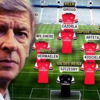 The 'Arsenal Revolution'- this could be the new look of the team if Arsene finally decides to break the bank-