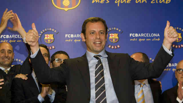 The President of Barcelona Sandro Rosell has found his eye on a speical player Stephan El Shaarway