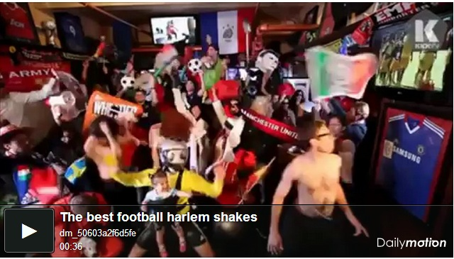The best football Harlem Shakes on the web.
