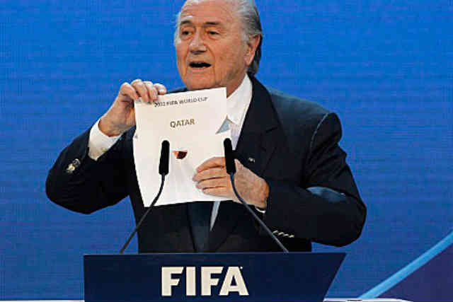 The chairmen of FIFA announces that Qatar will be the host of the World Cup 2022, many have said this was all bought