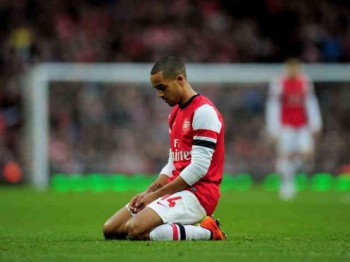 Theo Walcott in shock as Arsenal get a massive defeat in the FA Cup