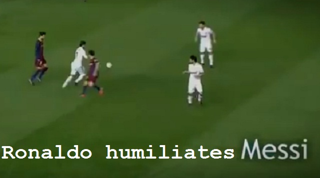 Watch Cristiano Ronaldo humiliating great players like Piqué, Nesta, Ashley Cole, Gattuso, Puyol, Kaka and even Lionel Messi