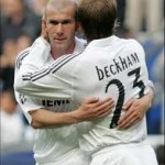 Zinedine Zidane on David Beckham: 'The guy is class'