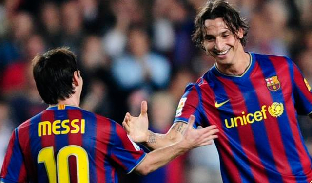 Zlatan Ibrahimovic has admitted that Lionel Messi is the best player in world football as he prepares to face his former Barcelona team-mate when Sweden take on Argentina on Wednesday.